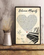 Bohemian Rhapsody Lyrics Satin Portrait Poster 11x17 Poster lifestyle-poster-3