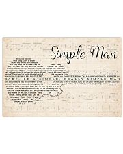 Simple Man lyrics Poster 24x16 Poster front