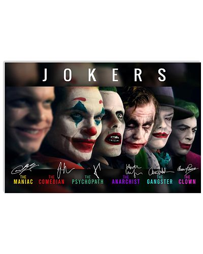 Joker Movie Phoenix Joker and Ledger Joker