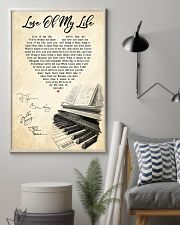 Love Of My Life Song Lyrics 11x17 Poster lifestyle-poster-1