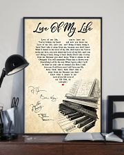 Love Of My Life Song Lyrics 11x17 Poster lifestyle-poster-2