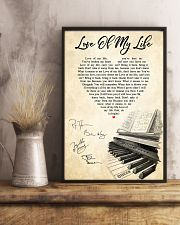 Love Of My Life Song Lyrics 11x17 Poster lifestyle-poster-3