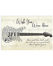 Wish You Were Here song lyric Poster 24x16 Poster front