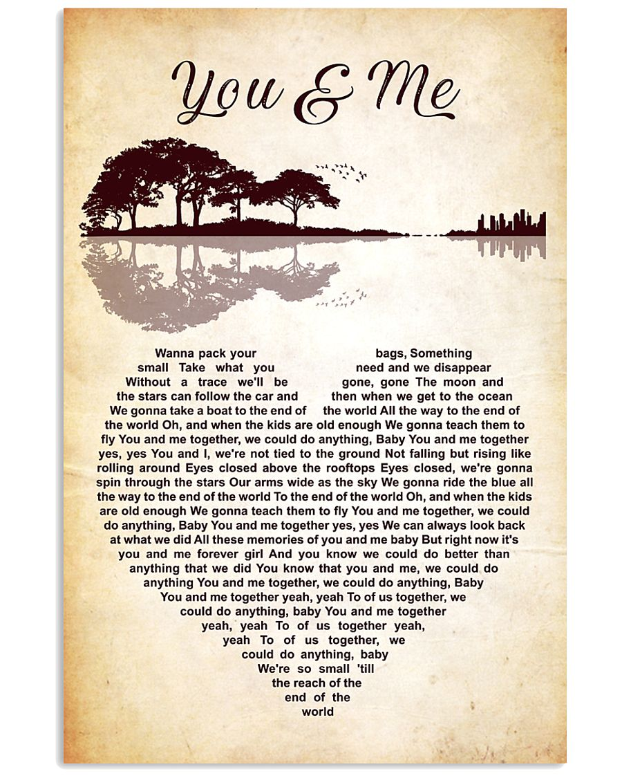 You and Me by Dave Matthews 11x17 Poster