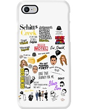 Schitt's Creek Ew David Phone Case tile