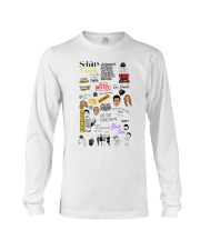 Schitt's Creek Ew David Long Sleeve Tee tile