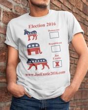 Joe Exotic For President 2016 Classic T-Shirt apparel-classic-tshirt-lifestyle-26