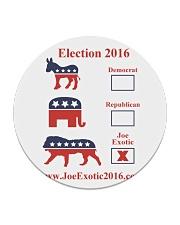 Joe Exotic For President 2016 Circle Coaster thumbnail