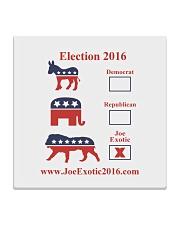 Joe Exotic For President 2016 Square Coaster thumbnail