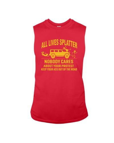 all lives splatter shirt