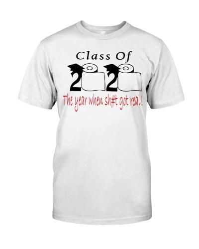 class of 2020 toilet paper shirt