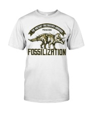 Triceratops Fossil Classic T-Shirt front