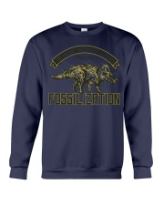 Triceratops Fossil Crewneck Sweatshirt thumbnail