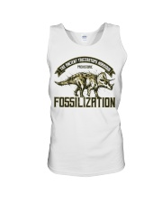 Triceratops Fossil Unisex Tank thumbnail