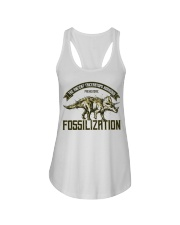 Triceratops Fossil Ladies Flowy Tank thumbnail