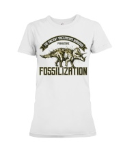 Triceratops Fossil Premium Fit Ladies Tee thumbnail