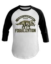 Triceratops Fossil Baseball Tee thumbnail