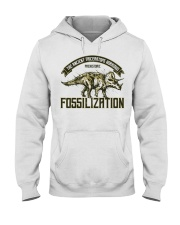 Triceratops Fossil Hooded Sweatshirt thumbnail