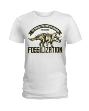Triceratops Fossil Ladies T-Shirt thumbnail