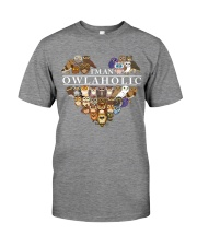 I'M AN OWLAHOLIC Premium Fit Mens Tee thumbnail