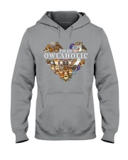 I'M AN OWLAHOLIC Hooded Sweatshirt thumbnail