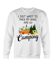 I JUST WANT TO PACK MY BAGS AND GO CAMPING Crewneck Sweatshirt thumbnail