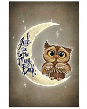 OWL I LOVE YOU TO THE MOON AND BACK 11x17 Poster front