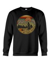 CAMPING I HATE PEOPLE Crewneck Sweatshirt thumbnail