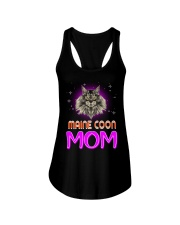 MAINE COON Merry Christmas Ladies Flowy Tank thumbnail