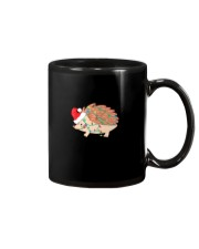 Hedgehog Christmas Light Shirt Funny Hedgehog Love Mug thumbnail