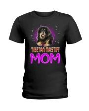 TIBETAN MASTIFF Merry Christmas Ladies T-Shirt thumbnail
