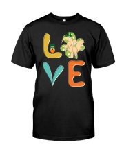 Anteater Shamrock St Patrick Day Classic T-Shirt front