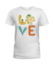 Anteater Shamrock St Patrick Day Ladies T-Shirt thumbnail