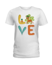 Antelope Shamrock St Patrick Day Ladies T-Shirt thumbnail