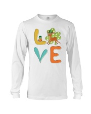 Antelope Shamrock St Patrick Day Long Sleeve Tee thumbnail