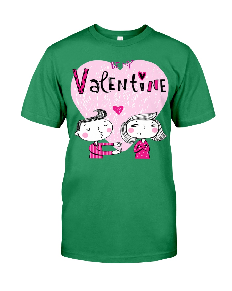 A Valentines Couple May Be Used As Valentine Card Premium Fit Mens Tee
