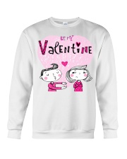A Valentines Couple May Be Used As Valentine Card Crewneck Sweatshirt thumbnail