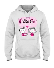 A Valentines Couple May Be Used As Valentine Card Hooded Sweatshirt thumbnail