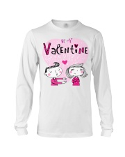A Valentines Couple May Be Used As Valentine Card Long Sleeve Tee thumbnail