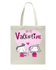 A Valentines Couple May Be Used As Valentine Card Tote Bag thumbnail