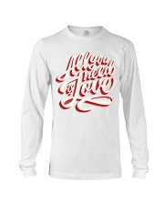 All You Need Is Love Typographic Poster Original H Long Sleeve Tee thumbnail