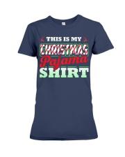 This Is My Christmas Pajama Shirt Xmas Pj Top T Sh Premium Fit Ladies Tee thumbnail