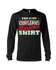 This Is My Christmas Pajama Shirt Xmas Pj Top T Sh Long Sleeve Tee thumbnail
