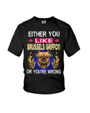 Either You Like BRUSSELS GRIFFON Youth T-Shirt thumbnail