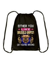 Either You Like BRUSSELS GRIFFON Drawstring Bag thumbnail