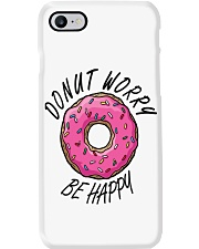 Donut Worry Be Happy Phone Case thumbnail