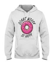 Donut Worry Be Happy Hooded Sweatshirt thumbnail