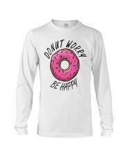 Donut Worry Be Happy Long Sleeve Tee thumbnail