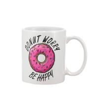 Donut Worry Be Happy Mug thumbnail