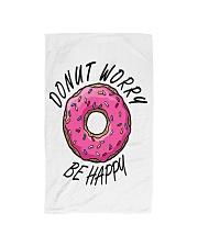 Donut Worry Be Happy Hand Towel thumbnail